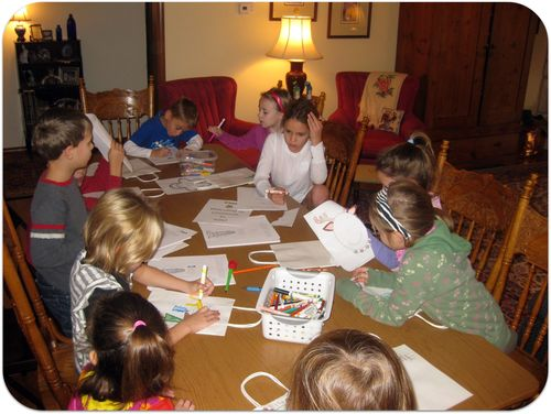 Christmas in Italy kids coloring
