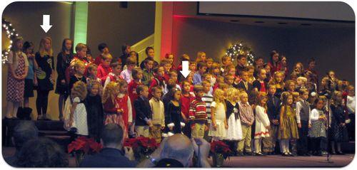 Christmas band and choir concert