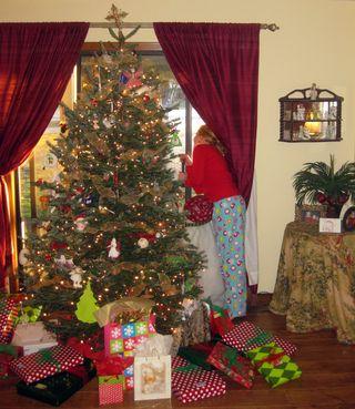 Christmas waiting on Nana and Pops