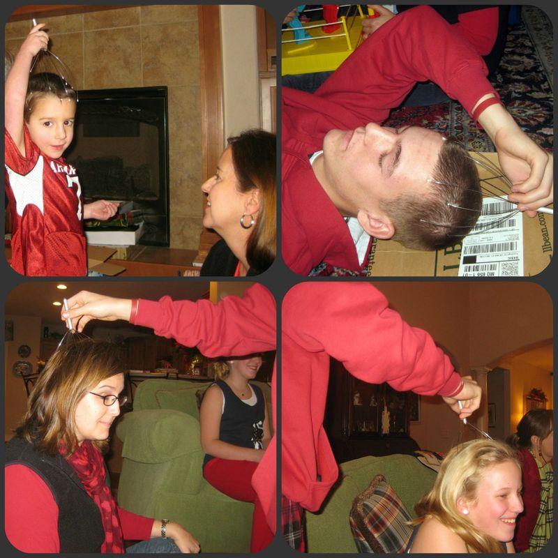 Oddest Christmas gifts scalp massager collage