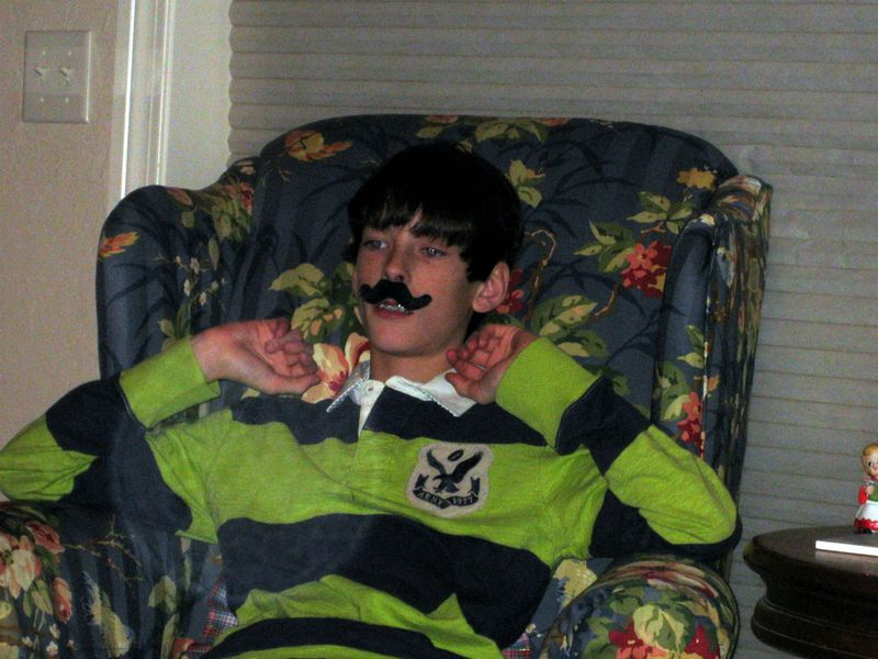 Oddest Christmas gifts fake mustaches