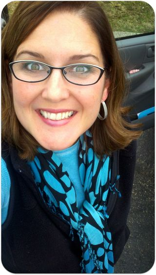 My signature look for winter turquoise and black