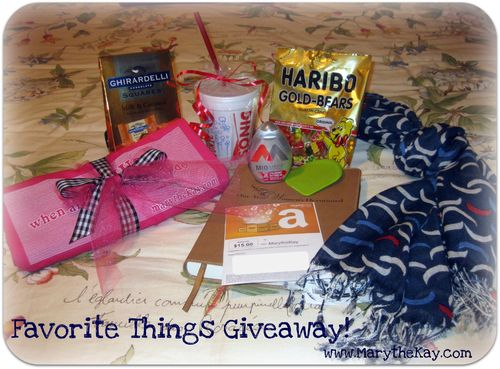 Favorite Things Giveaway at MarytheKay