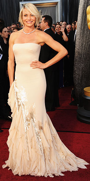 Oscars Cameron Diaz photo credit kevin mazur wire image