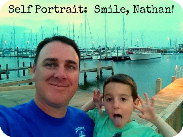 Self portrait smile nathan