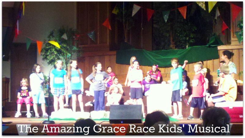 The Amazing Grace Race kids musical