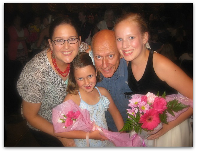 Family recital picture