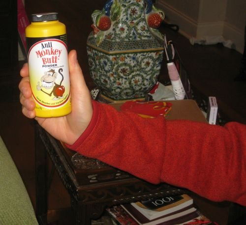 Oddest Christmas gifts monkey butt powder