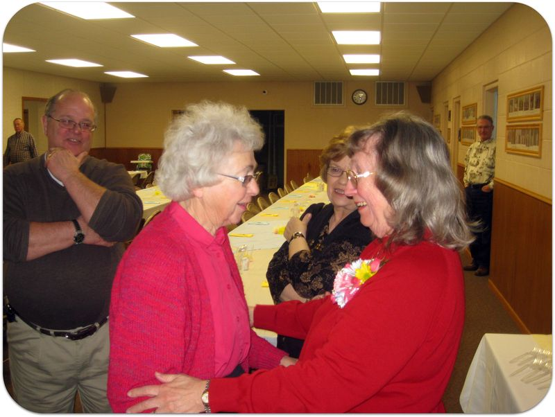 70th birthday party friends gather to celebrate