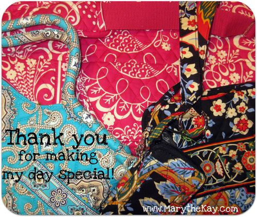 Birthday weekend vera bradley gift
