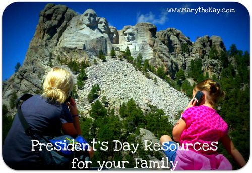 President's Day Resources for your Family