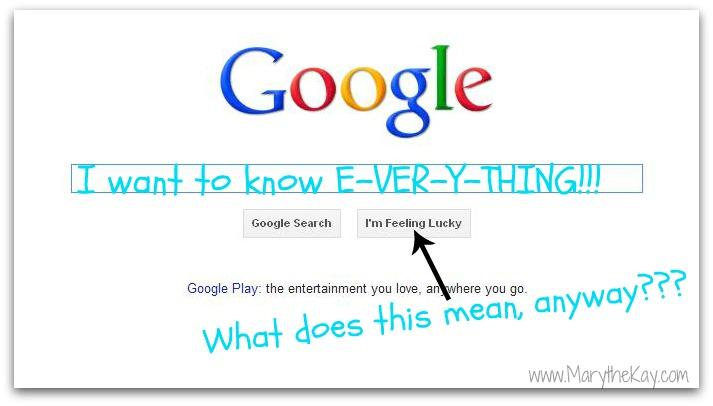 Google logo spoof for blog