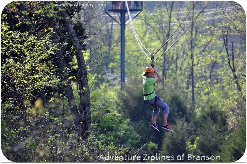 Zipline becca 2 Adventure Zipline Branson