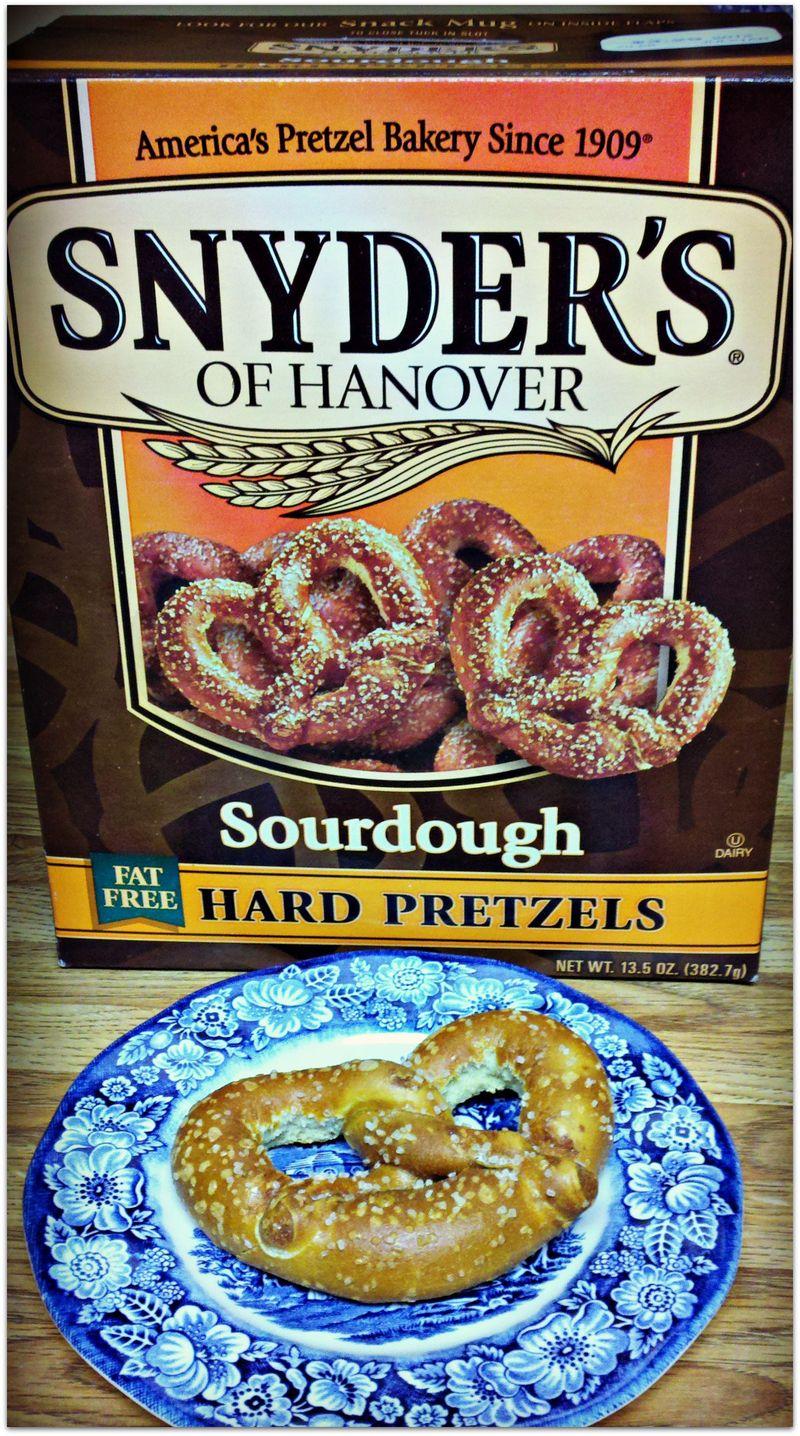 Favorite new snack sourdough pretzels