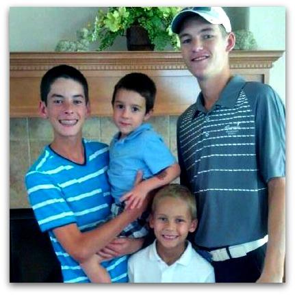 Boy cousins at cousin camp