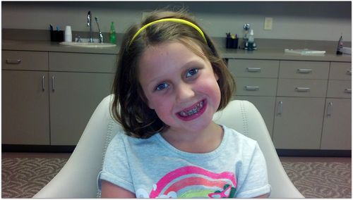 Sara beth after braces