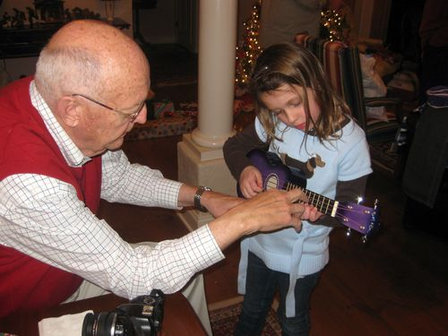 Christmas ukelele lesson
