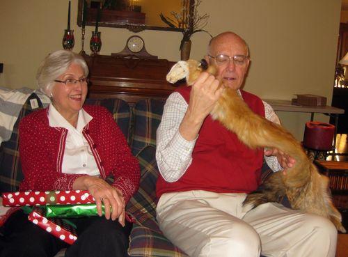 Oddest Christmas gifts fox pelt