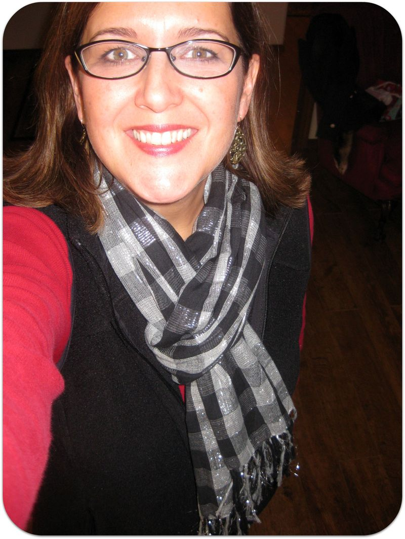 My signature look for winter red and black