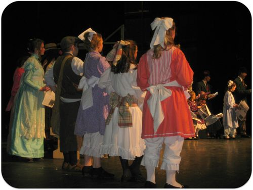 Hello Dolly costumes and hairbows