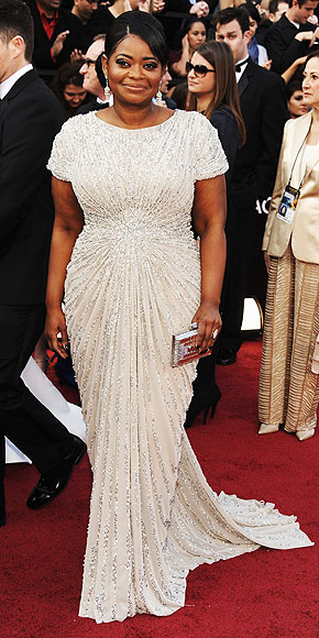Oscars Octavia Spencer photo credit kevin mazur wire image