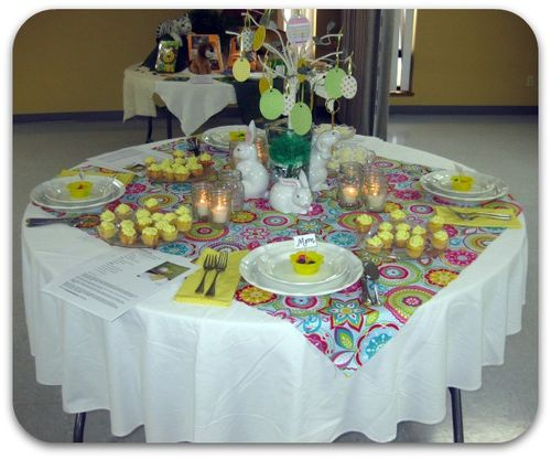 Spring table ideas
