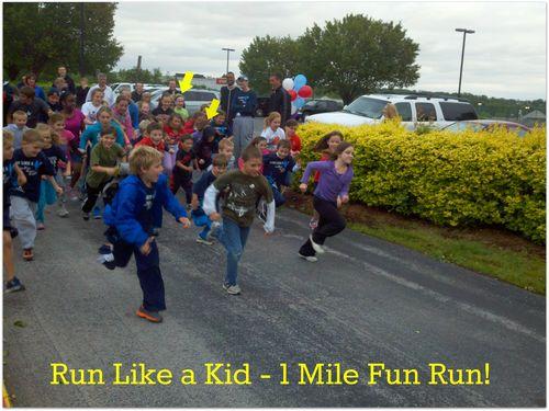 Run Like a Kid fun run