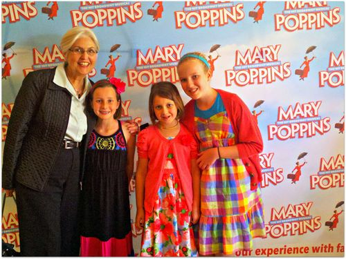 Mary Poppins musical with nana