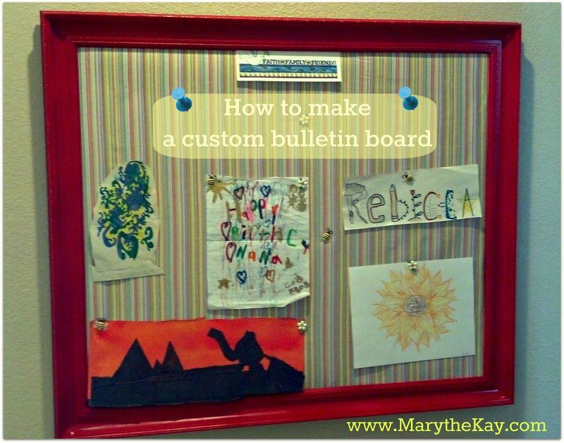 Custom bulletin board project3