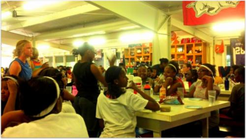 Kids across america dining hall scene