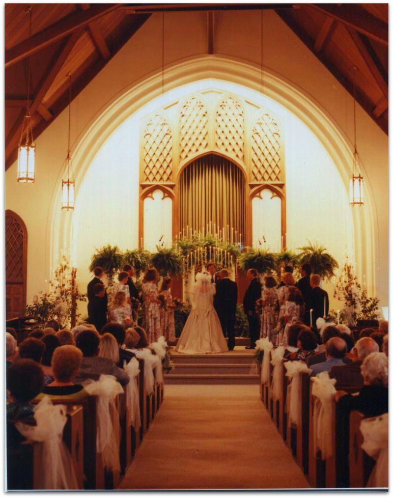 Wedding photo church picture