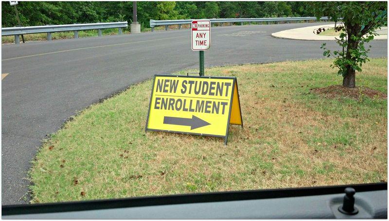 Rebecca new school registration