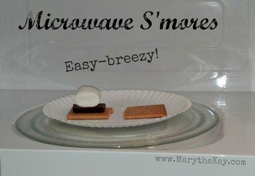 Microwave smores 1