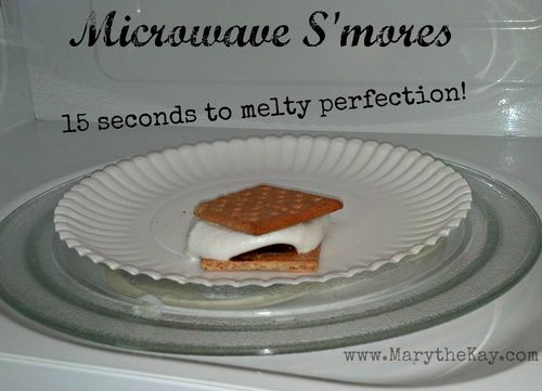 Microwave smores 2