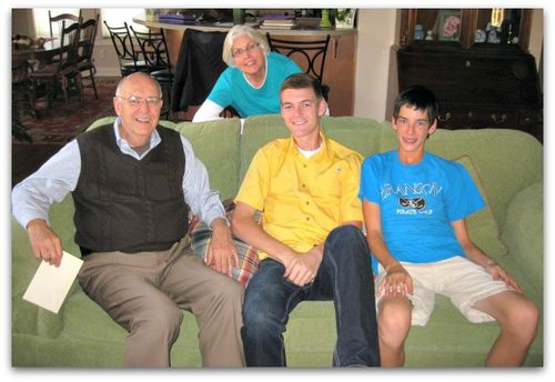 Grandparents and oldest grandkids