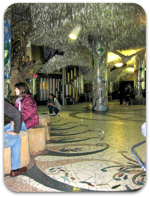 St Louis City Museum lobby area