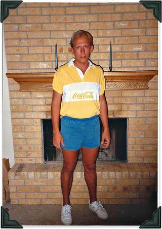 Dave retro Coke shirt pic