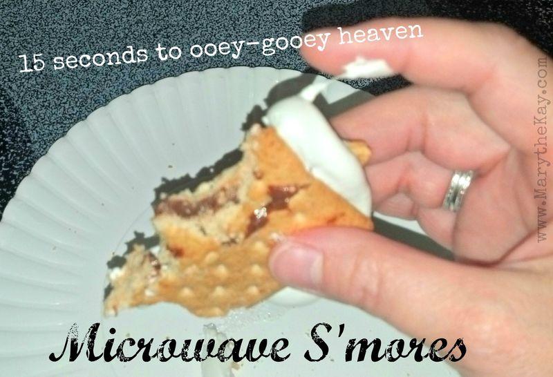 Microwave smores 3