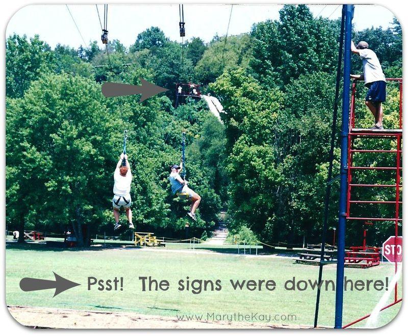 K-1 kanakuk zipline engagement picture2