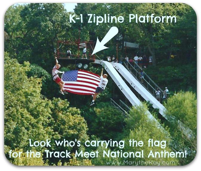 K-1 kanakuk zipline american flag picture3