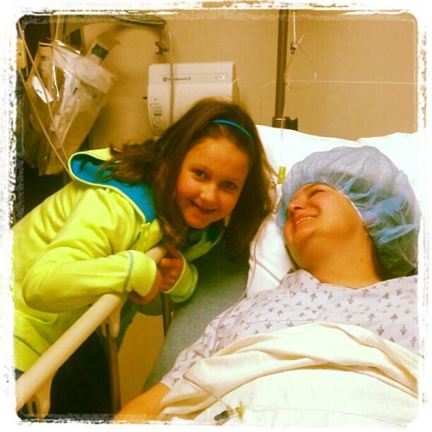 Sb and mk before surgery 2013