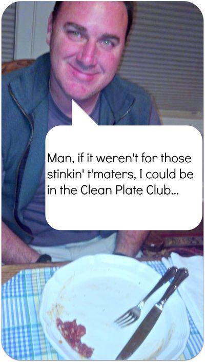 Birthday weekend clean plate club