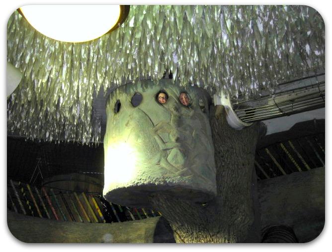 St Louis City Museum tree cave