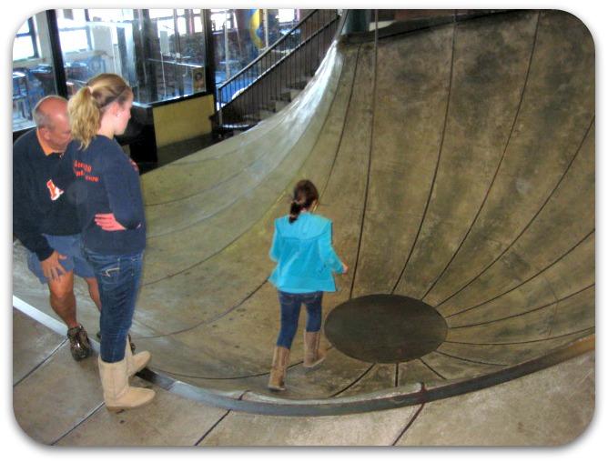 St Louis City Museum indoor non skate park