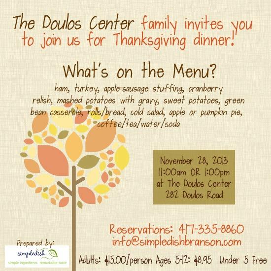 doulos center thanksgiving invite